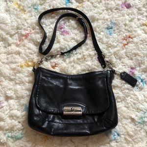 Black Coach Crossbody Purse Bag